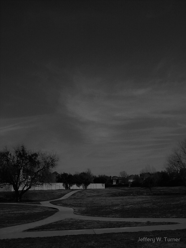 Lines In The Sky And The Ground by Jeffery W. Turner