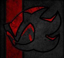 Shadow the hedgehog logo by shadowman256