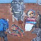 'Smile', Street Art in Altona by Joan Wild