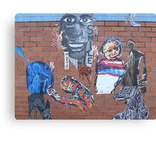 'Smile', Street Art in Altona Canvas Print