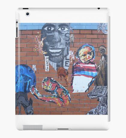 'Smile', Street Art in Altona iPad Case/Skin