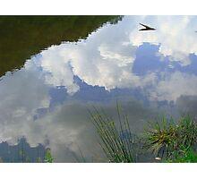 Water n Sky Photographic Print