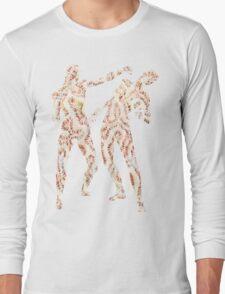 Coral Anatomy Kung Fu II Long Sleeve T-Shirt