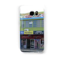 Newsagency and Massage Samsung Galaxy Case/Skin