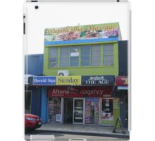 Newsagency and Massage iPad Case/Skin