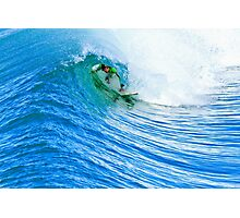 Surfing in Oceaside Photographic Print