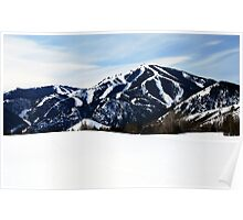 Bald Mountain, Sun Valley, Idaho Poster