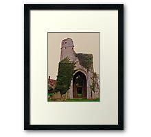 St Marys - Little Chart Framed Print