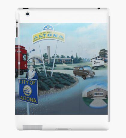 City of Altona, Mural (detail), Altona iPad Case/Skin