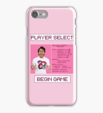 Markiplier Player Select Screen iPhone Case/Skin
