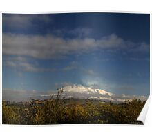 A winter view of Mt. Etna, Sicily Poster