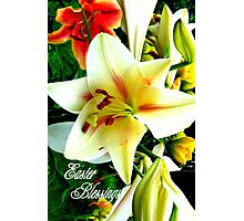 Easter Blessings. Photographic Print