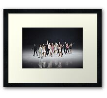 The Show goes on Framed Print