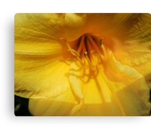 Paint Spring Yellow Canvas Print