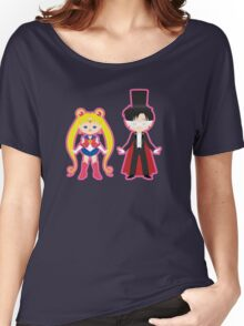 Sailor Moon and Tuxedo Mask Women's Relaxed Fit T-Shirt