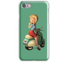Scooter Girl iPhone Case/Skin