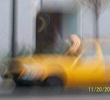 Taxi Cab by Gordon Sill