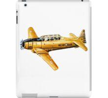 Yellow Plane Naive Art iPad Case/Skin
