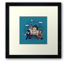 Have Fun Stormin' the Castle Framed Print