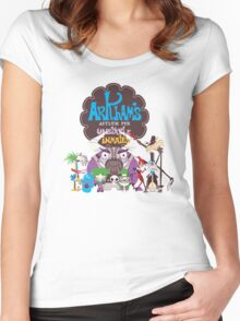Bats Imaginary Friends Women's Fitted Scoop T-Shirt