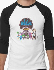 Bats Imaginary Friends Men's Baseball ¾ T-Shirt