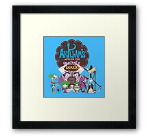 Bats Imaginary Friends Framed Print