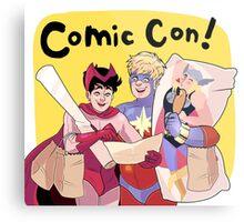 Comic Con! Metal Print