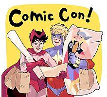 Comic Con! Photographic Print