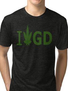 I Love GD Tri-blend T-Shirt