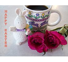Happy Easter Card Photographic Print