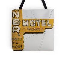 Westerner Motel. Tote Bag