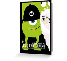 Wicked Inc. Greeting Card