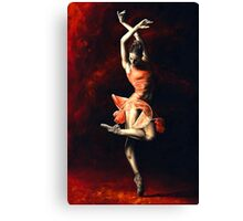 The Passion of Dance Canvas Print