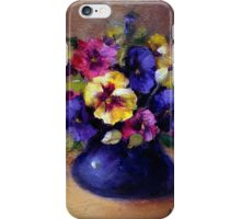 Pansies iPhone Case/Skin