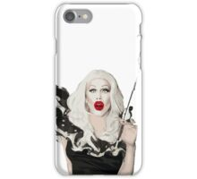 She looks spooky but she's really nice. iPhone Case/Skin
