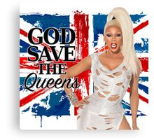 God Save The Queens Canvas Print