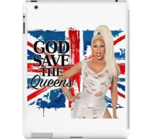 God Save The Queens iPad Case/Skin