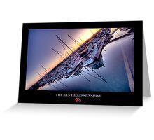San Diego Harbor - HDR Greeting Card