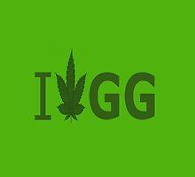 I Love GG by Ganjastan