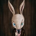 'Mr Bernard Cottontail' by Jodee Taylah