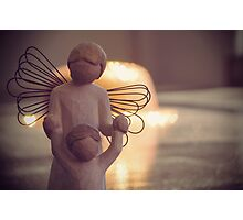 Angel Bokeh Photographic Print
