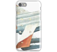 Red Tail Fighter Jet India Wall Mural iPhone Case/Skin