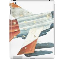 Red Tail Fighter Jet India Wall Mural iPad Case/Skin