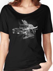 Marilyn Monroe, Cadillac Eldorado  Women's Relaxed Fit T-Shirt