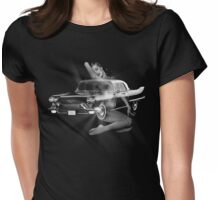 Marilyn Monroe, Cadillac Eldorado  Womens Fitted T-Shirt