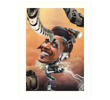 """Omega Man.....2345""  Enhanced by the Amazing ""Winslow"" Art Print"