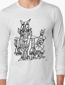 Catbot Mech by Roo8rz Long Sleeve T-Shirt