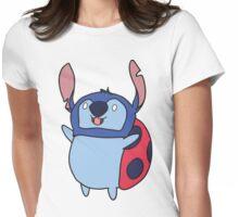 Catbug stitch Womens Fitted T-Shirt