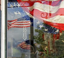 Reflections of Our Flag by Larry3