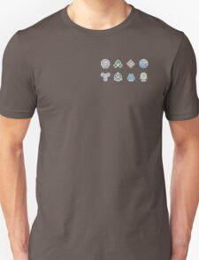 The Sinnoh Gym Badges T-Shirt